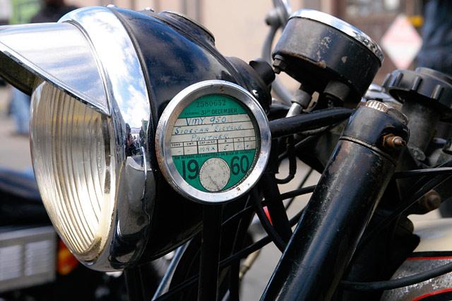 Old Headlight © Dennis Mojado