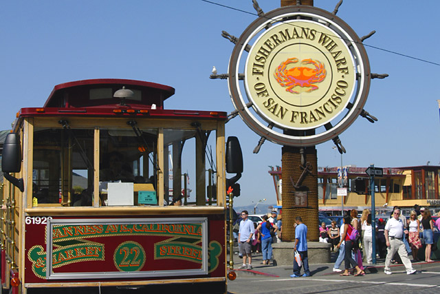 Welcome to Fisherman's Wharf © Dennis Mojado