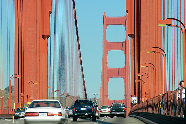 Golden Gate Northbound © Dennis Mojado