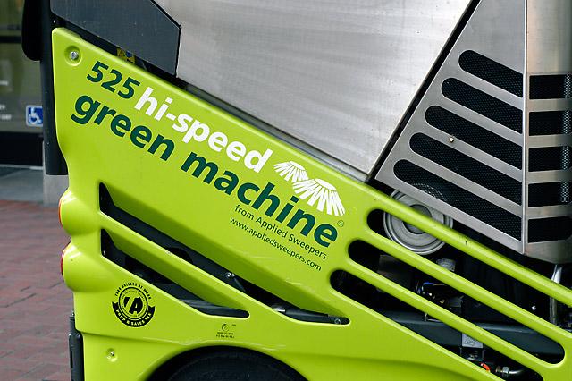 Green Machine © Dennis Mojado