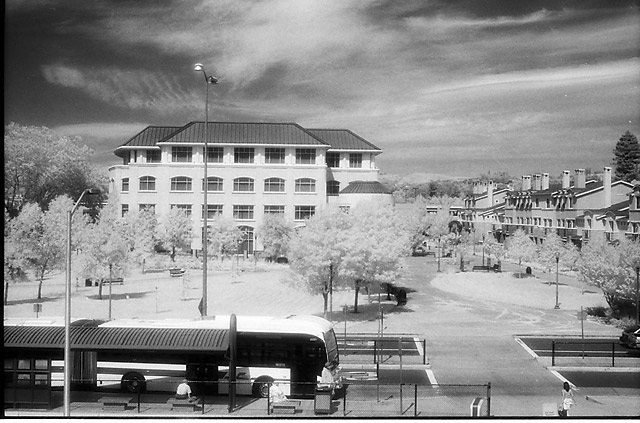 City Hall in IR © Dennis Mojado