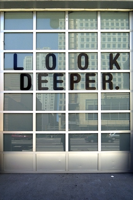 Look Deeper &copy; Dennis Mojado