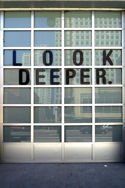Look Deeper © Dennis Mojado