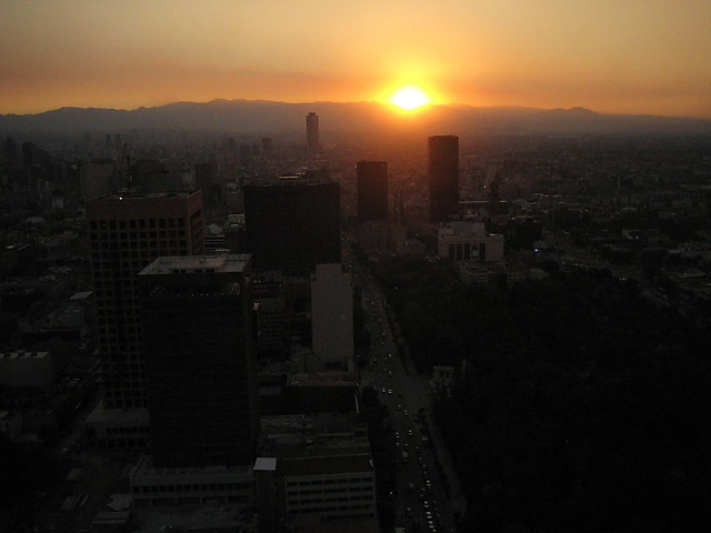 Mexico City Sunset © Dennis Mojado