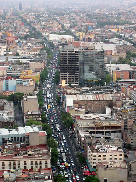 Mexico City Traffic © Dennis Mojado