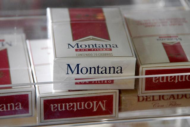 Montana Cigarros © Dennis Mojado