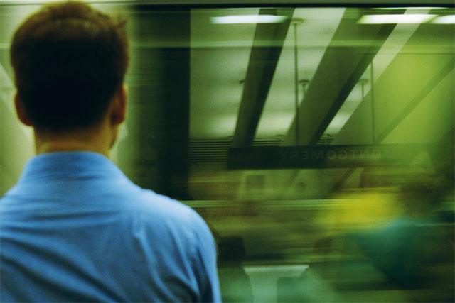 Commute Reflections © Dennis Mojado