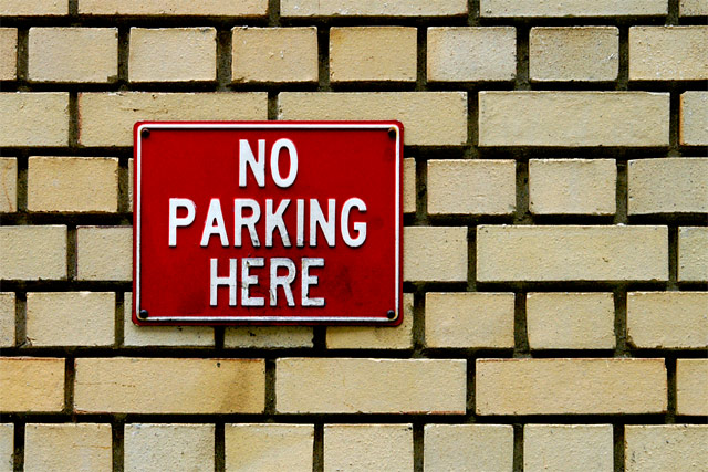 No Parking Here © Dennis Mojado