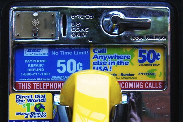 Hayward Payphone © Dennis Mojado