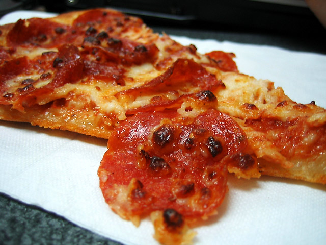 Pepperoni Pizza © Dennis Mojado