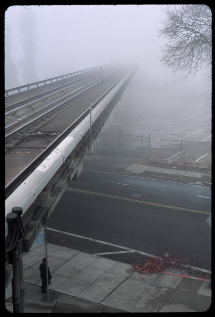Rails into the Fog © Dennis Mojado