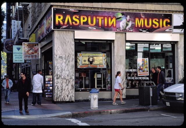Rasputin Music SF © Dennis Mojado