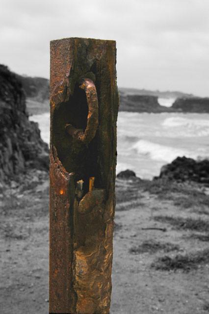 Rusty Post 1 © Dennis Mojado