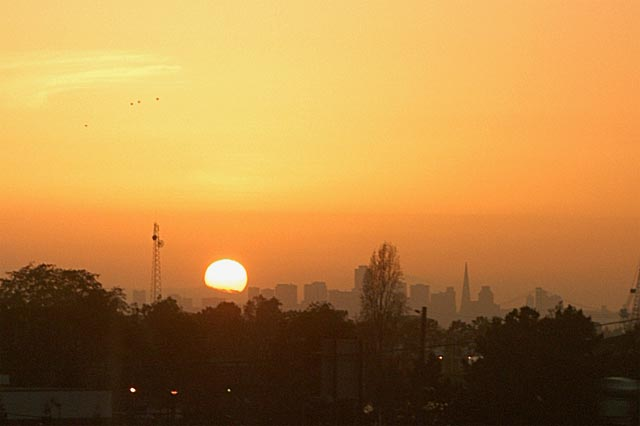 San Fran Sunset © Dennis Mojado