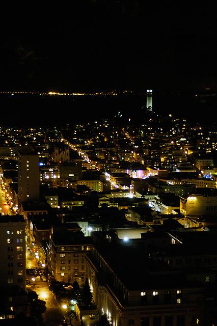 SF on a Rainy Night © Dennis Mojado