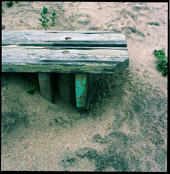 Sandy Bench © Dennis Mojado