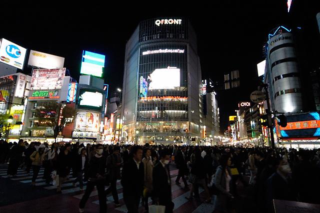 Shibuya Crossing II © Dennis Mojado