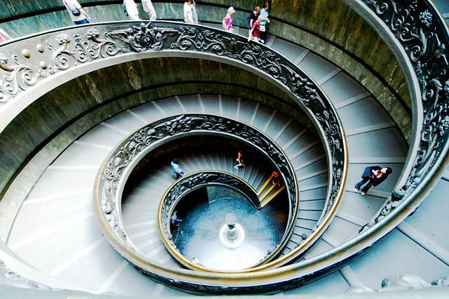 Vatican Spiral © Dennis Mojado