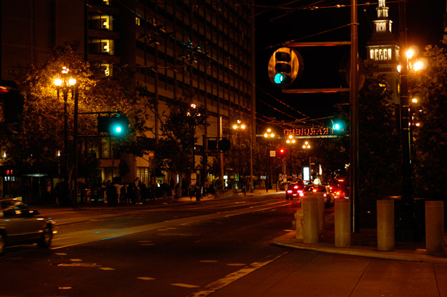 Streets of San Francisco (Night) © Dennis Mojado