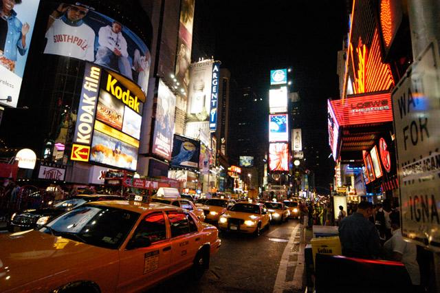 Times Square at Night © Dennis Mojado