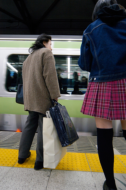 Waiting for Yamanote &copy; Dennis Mojado
