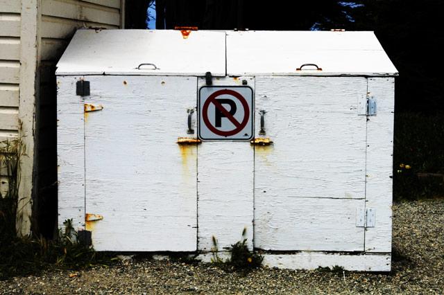No Parking Container © Dennis Mojado